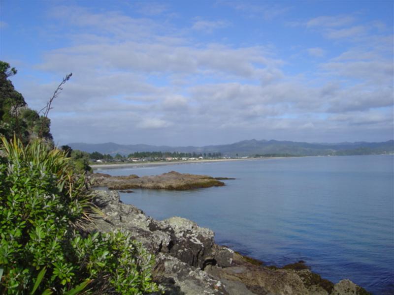 Matarangi Beach in the Distance